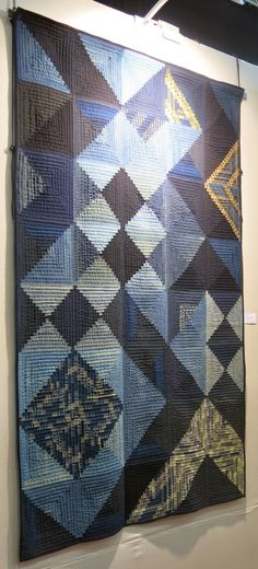 Quilt exposition à Nantes - Les courtepointes indigo de Tomie Nagano