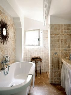 22 Absolutely Charming Provence Bathroom Décor Ideas | DigsDigs