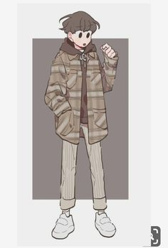 LoLi KunG - 【Nightcore】- Taiyou to Himawari Character Drawing, Character Illustration, Illustration Art, Cute Art Styles, Cartoon Art Styles, Drawing Reference Poses, Drawing Tips, Boy Art, Character Design Inspiration