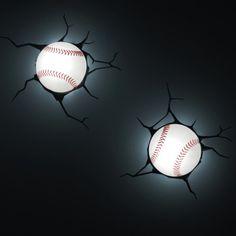 3D Wall Art Nighlight - Baseball$16.99 online price SALE reg: regular price $19.99 - save (15%) 3D Wall Art Nighlight - Baseball
