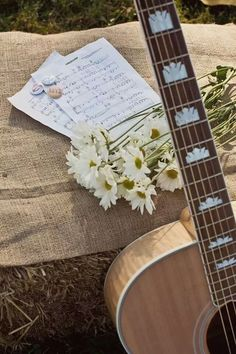 #Guitarra #Flores #Música