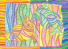 Pintar amb colors càlids i freds