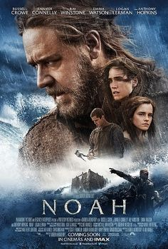 Noah Character Posters with Russell Crowe and Jennifer Connelly - MovieWeb.com