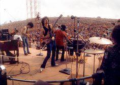 Carlos Santana onstage @ Woodstock