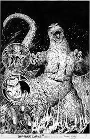 Image result for godzilla monster planet