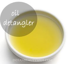 DIY Detangler - adds shine and bounce to hair