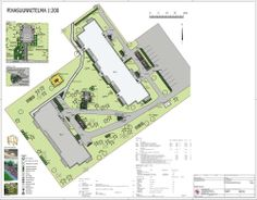 Taloyhtiön pihasuunnitelma, saneerauskohde - Landscape plan