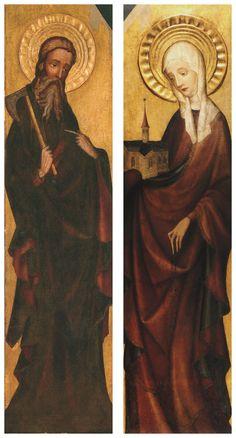 Retable of Trzebunia, gothic panel painting, Lesser Poland