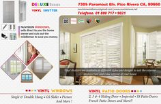 NuVision Offers High Quality Virgin Vinyl Windows - Construccion -