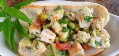 Avocado Shrimp Rolls (Yesss!)