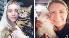 19+ Times Cats Want Absolutely Nothing To Do With Their Humans' Selfies-Craze