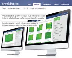 Scopri la sezione #esercizi del software per allenatori di #calcio http://www.mistercalcio.com/sito/
