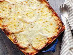 Eggplant Parmigiana Recipe : Alex Guarnaschelli : Food Network - FoodNetwork.com