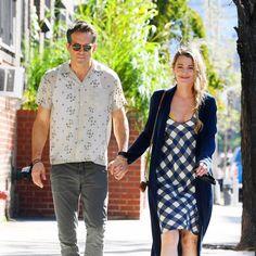 Blake Lively Ryan Reynolds, Disney Plus, True Love, New York, Novels, Button Down Shirt, Men Casual, Guys, Mens Tops
