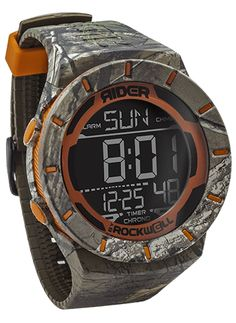 Designed to take gladiator-level use and abuse, the Coliseum is the core of our Rider by Rockwell digital line. A multifunction digital, it features: dual time zone, chronograph with 50-lap memory, co