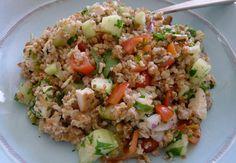 Pohanka s kuřecím masem a zeleninou - DIArecepty