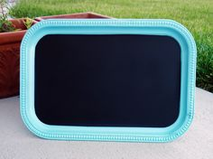 Bella Storia: Yup, Another Do-It-Yourself Chalkboard