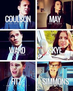 #Aos. Agents of shield characters