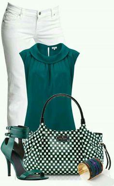 Όμορφο σύνολο με ωραία χρώματα!! Δεν μου αρέσει η τσάντα για αυτόν τον συνδυασμό ρούχων!!! Από μόνη της είναι οκ για να ταιριάσει σε κάποιο άλλο σύνολο!!