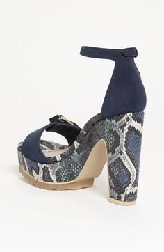 52cca75cd5ee Stella McCartney Snake Print Sandal
