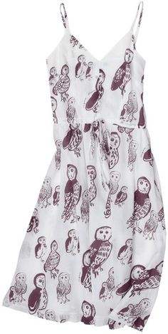 Owl print Ballerina Dress from Virginia Johnson