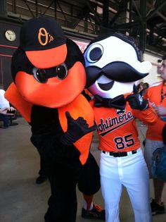 The Oriole Bird and Natty Boh!!!