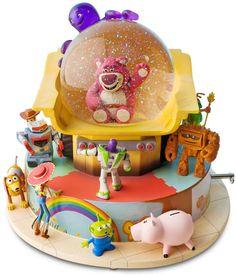 Toy Story 3 Snowglobe