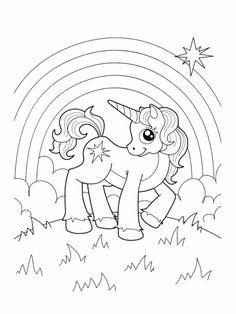 einhorn zum ausdrucken, ausmalbilder frei herunterladenm, süßes bild My Little Pony Coloring, Unicorn Coloring Pages, Creative Skills, Unicorn Birthday Parties, Primary Colors, Snoopy, Printables, Flowers, Anime