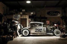 Custom rod shop. #ford #classic