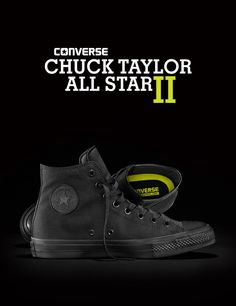 Converse All Star Chuck Taylor II: Black
