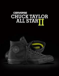 Converse All Star Chuck Taylor II: Black