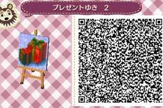 Christmas Gifts - Animal Crossing New Leaf QR Code