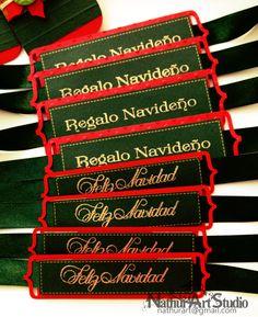 Etiquetas de Navidad para Frasco de Mermelada. Christmas Tags for Jam Jar:)