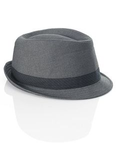 fedora -- we have a few that were my Grandfathers...the kids LOVE them.