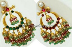 Jewellery Designs: VBJ Two Sided Chandbalis