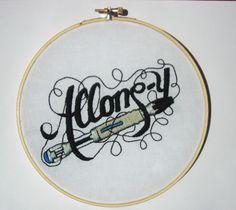 Allons-y! (via http://www.mrxstitch.com/spikefans-sonic-screwdriver-stitchery/)