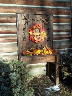 Display/Planter Using Recycled Materials :: Hometalk
