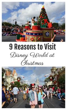 Christmas is a magical time for families to visit Disney World in Orlando, Florida. These are our must-dos and tips for the most holiday fun at Disney World | Gone with the Family | #christmas #disneyworld