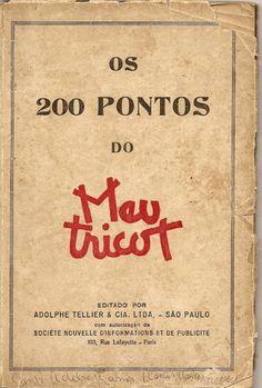 OS 200 PONTOS DO MEU TRICOT - ED. 1948 - rejane camarda - Álbumes web de Picasa