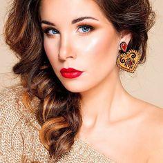 "Earrings ""The Folk Heart"" 💗 symbolizing the warmth of the human heart.   www.roduslava.cz  .................................................................................  #roduslava #czech #brand  #perfect #giftforwoman #womanfashion #slavicfashion #slavic #love #nausnice #perfektni #darek #jewelry #designer #earrings #luxury #czechrepublic #slovakia #eshop #czech #handmade #darky #prague #slovanskamoda Jewelry Designer, Designer Earrings, Human Heart, Prague, Gifts For Women, Folk, Drop Earrings, Luxury, Womens Fashion"