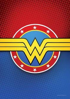 Wonder Woman - DC - Comics   Posters Minimalistas