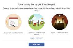 Facebook rinnova la sezione Eventi