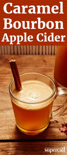 There's nothing quite as soul soothing as a piping hot mug of spiked apple cider with a smoked, maple-tinged bourbon, a touch of amaro and a homemade salted caramel sauce.