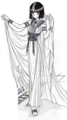 Anime Egyptian Bride