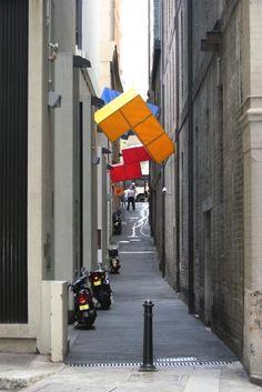☆ Giant Tetris Shapes Invade Sydney
