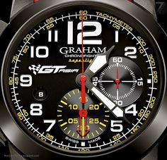 GRAHAM – Chronofighter Oversize Superlight GT Asia Limited Edition Ref. 2CCBK.B10A.K95N Limited edition 88 pieces
