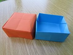 Origami Kutu Yapımı (Sesli Anlatım) - El Sanatları ve Hobi Sitesi - El Sanatları ve Hobi Sitesi