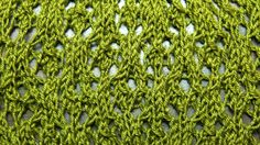 The Snowflake Lace Stitch is a beautiful lace pattern that creates a snowflake-like motif through strategically placed holes in your knitting. This is great for a decorative edge in a shawl or even knitted up as a scarf. Knitting Help, Knitting Stiches, Knitting Videos, Lace Knitting, Crochet Stitches, Knitting Patterns, Knit Crochet, Knitting Tutorials, Knitted Cowls