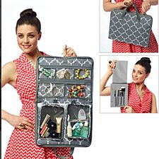 pouch bag The RuMe Jet Set (Jewelry & Travel Organizer) is the most functional travel organizer you'll ever own. This handy toiletry and jewelry bag is loaded with clever functions and pockets, making packing,The Jet Set is the perfect solution for Hanging Jewelry Box, Jewelry Tree, Jewelry Holder, Jewelry Drawer, Diy Jewelry, Jewelry Stand, Travel Jewelry Organizer, Travel Organization, Jewelry Organization