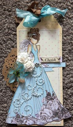 Creative Mayhem: Prima Mixed Media Doll Stamps - Lorrena and Swing Dress